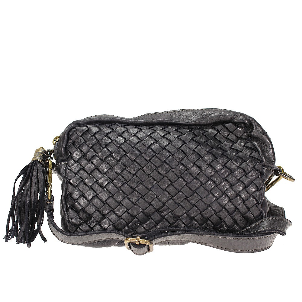 GIORGIA - braided leather bag