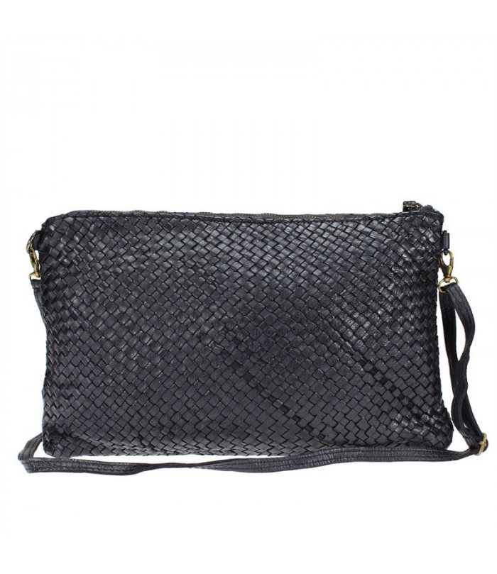 LORETTA - Pochette -shoulder bag with braided leather