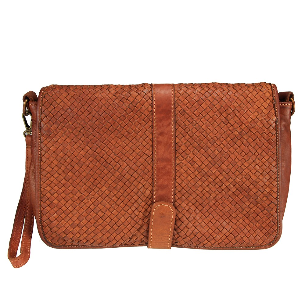 Chicca - Messenger bag with braided leather