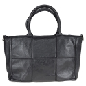 RITA - Leather bag with vintage effect
