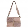 LINA - Little shoulder bag with braided leather