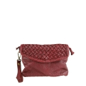 PICPIC - Pochette -shoulder bag with braided leather